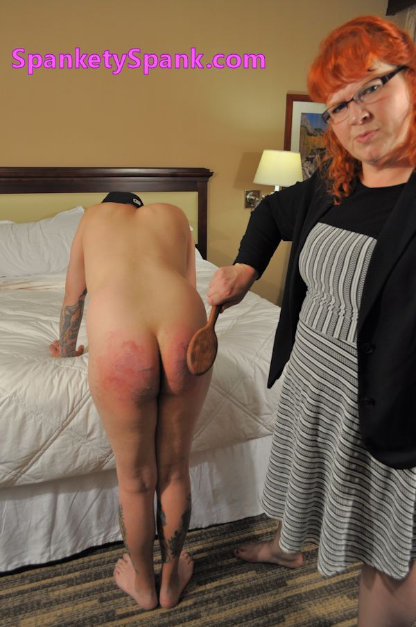 The girl spank me miss love Czech